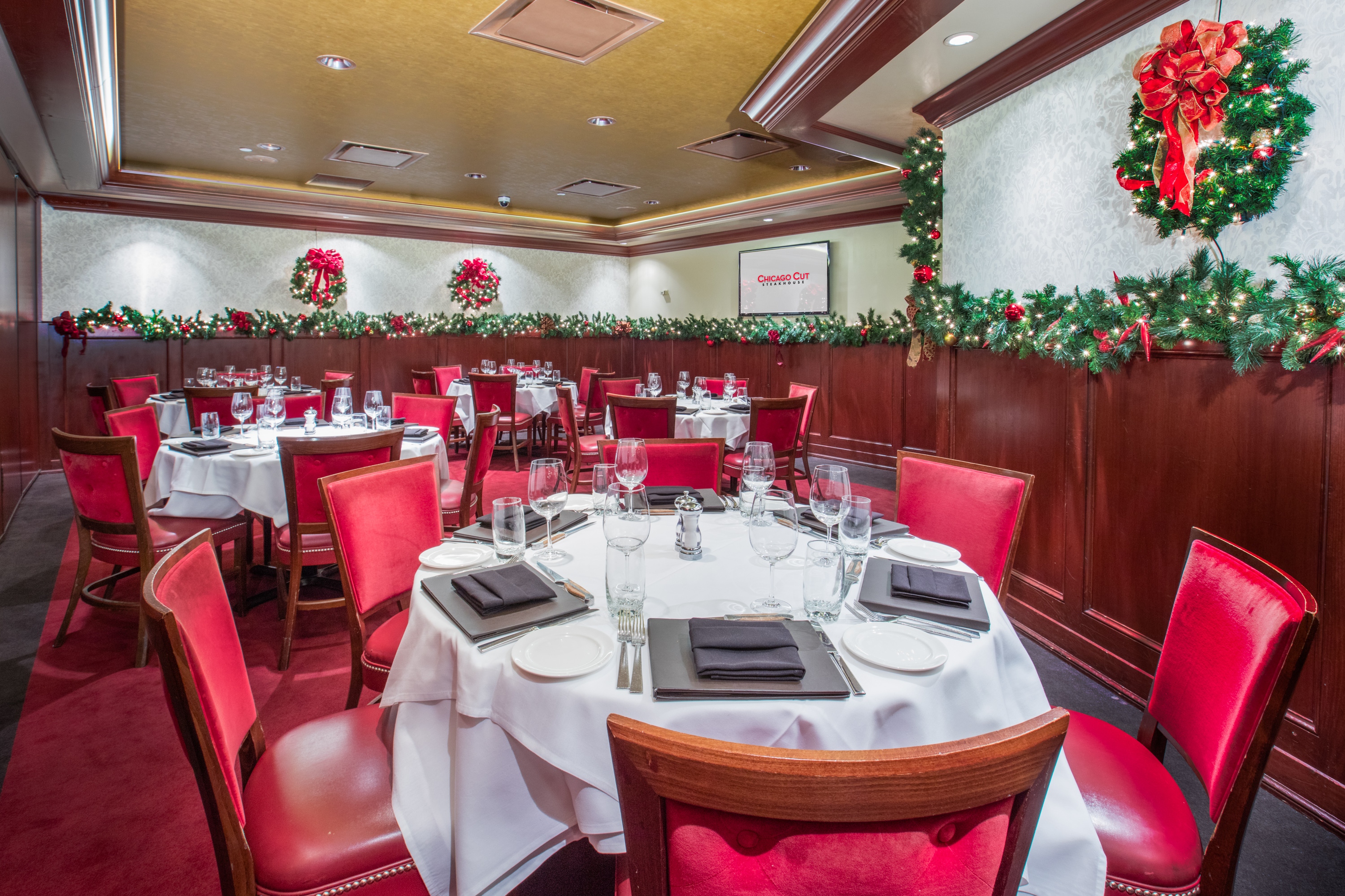 holiday private dining - Private Dining Rooms Chicago