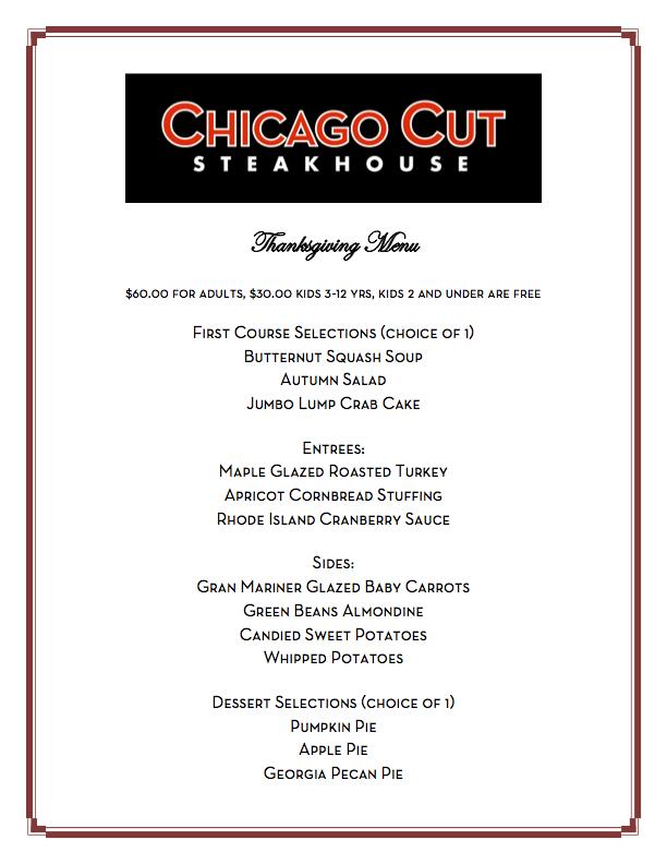 Chicago Cut Steakhouse Chicago Cut Steakhouse